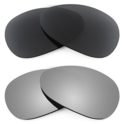 Revant Ersatzlinsen für Oakley Crosshair S Polarisiert 2 Paar Kombipack K001