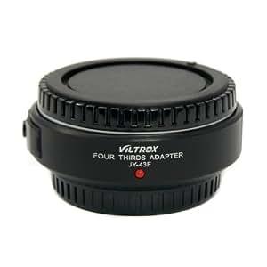 Viltrox Adapter für den Anschluss von 4/3 (Four Thirds System) Objektiven an Micro 4/3 (Micro Four Thirds) Kameragehaüse, wie Original Olympus MMF-2 Adapter