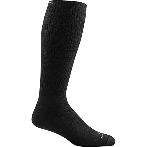 Darn Tough Tactical Over the Calf Extra Cushion Sock - Black X-Large