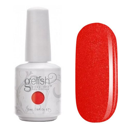 GELISH - PUT A WING ON IT - FIREY RED SHIMMER