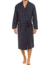 Haigman Mens brossé 100% coton 7395 Peignoir Wrap