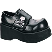 Demonia Pleaser CREEPER-1042P/F M/J fangbanger Punk Rockabilly Blk Sintética Creeper Zapatos 2