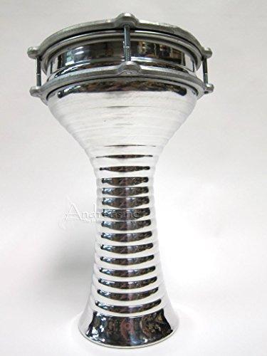 Aluminum Doumbek, Zebra, 20cm -
