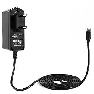 Aukru Alimentatore Micro USB 5v 2000mA Caricabatterie per Raspberry Pi 2 Model B / Pi B+ (Plus)