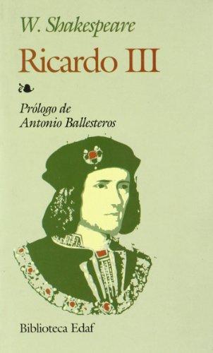 Ricardo III (Biblioteca Edaf) por William Shakespeare