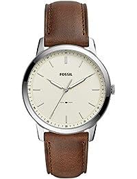Fossil Analog Beige Dial Men's Watch - FS5439