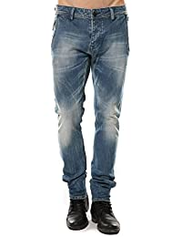 JEANS ANGUS STONE BLUE USED Deeluxe Homme