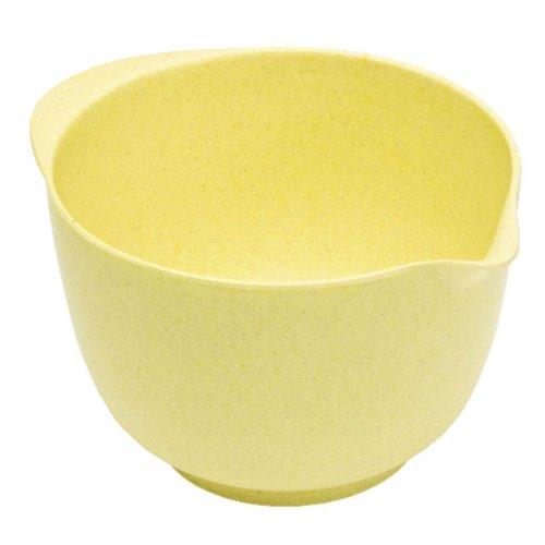 Bambus-rührschüsseln (Magu 132 053 Rührschüssel 24 cm Natur Design, gelb)