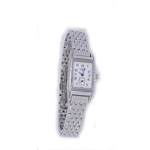 Longines Women Clock Quartz l21940836bellearti (Rechargeable) quandrante White Strap Stainless Steel