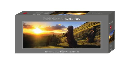 Imagen 2 de Heye Panorama Puzzle Easter Island 1000 Teile (KV&H Verlag)