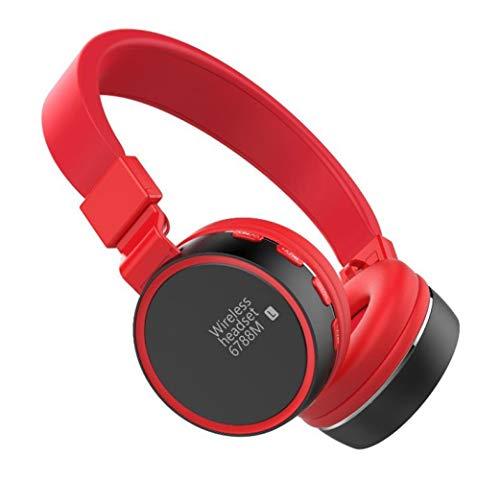 Kopfhörer mit Rauschunterdrückung Bluetooth ANC Wireless Over Ear-Kopfhörer, HiFi-Sound Deep Bass,für die Reise TV PC-Handy, E - $50 Unter Der At&t Handys Für