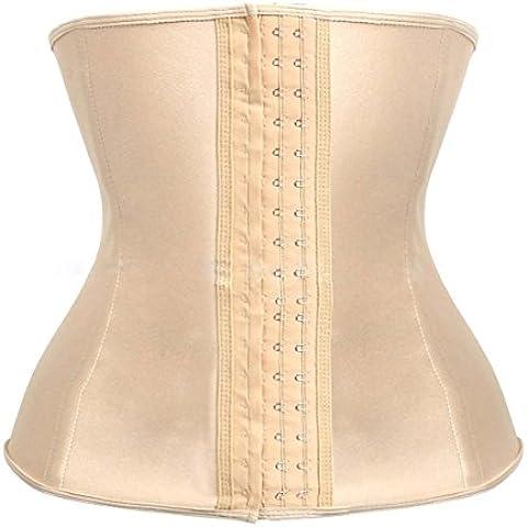 Da donna Traspirante Vita Formazione Corsetto Cincher corsetti, Donna Allenamento Cintura Corpo Shaper, pelle