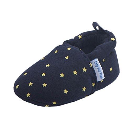 Chaussures Premiers Pas,Xinan Chaussures Garçon Fille Cuir Souple Chaussures Imprimé Bottines
