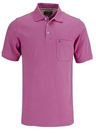 CASAMODA Herren Poloshirt 004270, Einfarbig, Gr. Small, Violett (lila 911)
