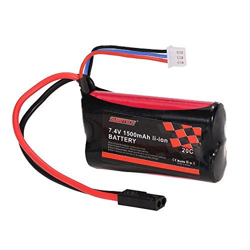 Goolsky SUBOTECH 7.4V 1500mAh 20C Batterie Li-ion pour SUBOTECH BG1506 BG1507...