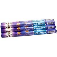 Luxflair Premium Räucherstäbchen Nag Champa, XL Set mit 10 Packungen á 8 Räucherstäbchen (80 Stück), lange Brenndauer... preisvergleich bei billige-tabletten.eu