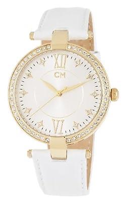 Reloj Carlo Monti CM506-216 de mujer de cuarzo con correa de piel blanca - sumergible a 30 metros de Carlo Monti