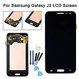 CplaplI Schermo di Montaggio digitalizzatore Sostituzione del Gruppo, sostituire LCD Touch Screen digitalizzatore assemblaggio per Samsung Galaxy J320FN J3 2016-nero