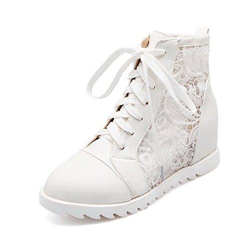 A&N ,  Damen Chukka Boots , weiß - weiß - Größe: 35.5