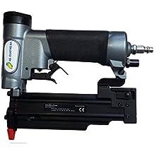 Clavadora Neumática Combi P635N para agujas con y sin cabeza de 0,6 mm de grosor y hasta 35 de largo + 3.000 Puntas + Maletín - Especial Tapetas