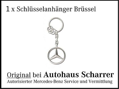 Preisvergleich Produktbild Schlüsselanhänger Brüssel / Original Mercedes-Benz