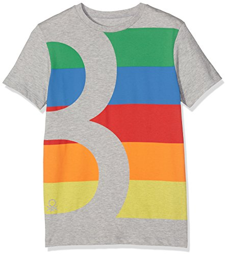 united-colors-of-benetton-t-shirt-garon-gris-grey-11-12-ans-taille-fabricant-el