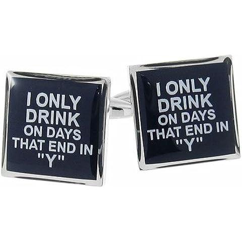 I que solo bebida en días de acoplamiento en Alcohol Y oficina regalo licor gemelos