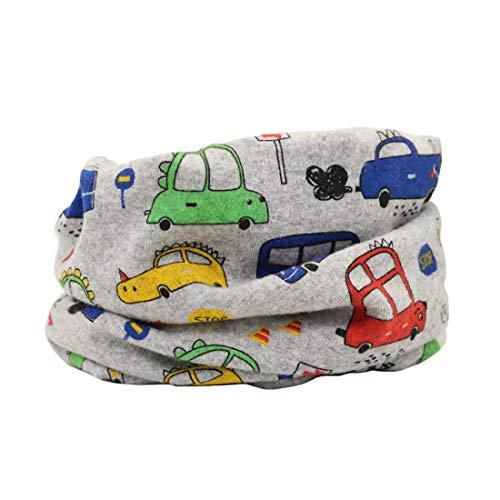 Boomly sciarpa scaldacollo neonato sciarpa bandana per bambini morbida e calda multiuso sciarpa loop o-ring sciarpa infinity scaldacollo sciarpa in cotone (#1)