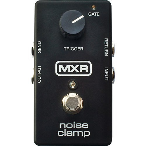 MXR M195Noise Clamp Noise Reduction/Gate Pedal W/Bonus Patch Kabel & RIS Plektrum Plektron Picks (X3) 710137050891 - Guitar Gate Noise Pedal
