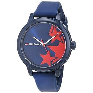 Tommy Hilfiger Reloj Análogo clásico para Mujer de Cuarzo con Correa en Silicona 1781795