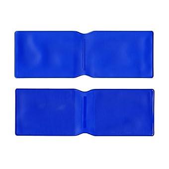 Dunkelblau Kunststoff Oyster Card Wallet Abdeckung/Halterung/
