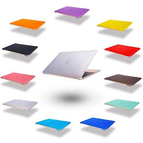 Elegantes und leichtes Cover Ultra Dünn Schutz Hülle Case Cover Schutzabdeckung Hardcase Notebook Hülle Hartschale Etui für Apple Macbook Air 11.6 Zoll(Modellnummer:A1370/A1465) in Transparent (Macbook Refurbished 11 Air)
