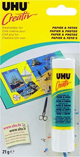 UHU 47175 Spezialkleber, Creativ, Papier, Fotos Klebestift, 21 g -