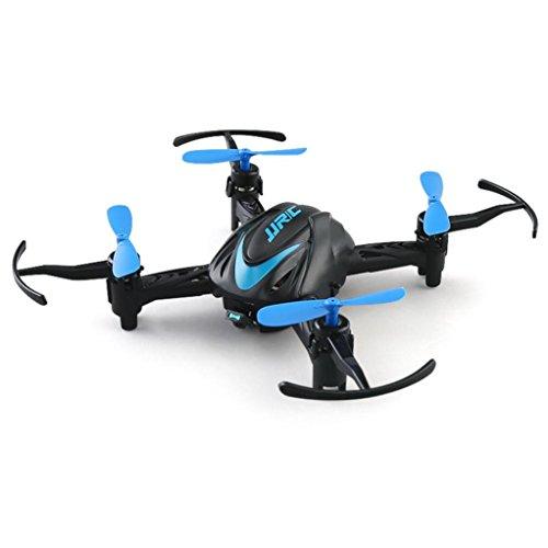 WINWINTOM 2018 Mini JJRC H48 Mini Drone 6 Axis 2.4G RC Micro Quadcopters Aviones Control Remoto para Niños (Azul)