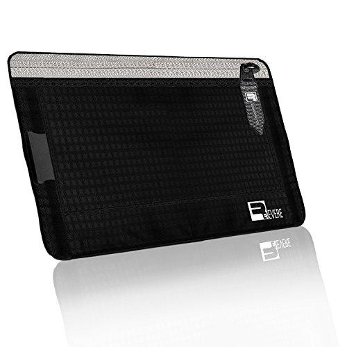 3 in 1 RFID Nascosto Marsupio da Viaggio - Cintura Portadenaro / Portafoglio da Collo / Cintura Marsupio. Blocco di Sicurezza RFID (Nero)
