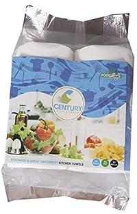 Century Kitchen Tissue/Towel Paper Roll - 2 Rolls (60 Pulls Per Roll)