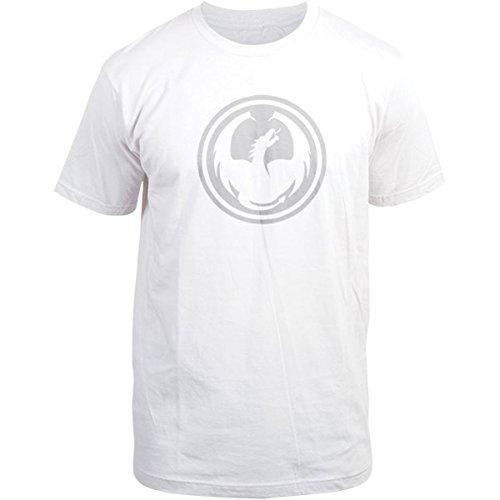 Dragon Alliance Mens Icon Special Short-Sleeve Shirt Medium White