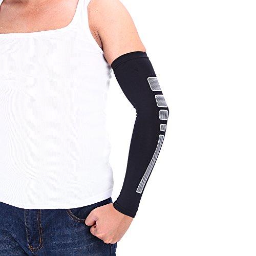 Arm-Klammer-Unterstützungs-Kompressions-Ellenbogen-Hülse Weiche Breathable Lightwight Arm-Schutz für das Radfahren, das Basketball-Volleyball M/L / XL läuft