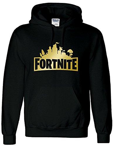 Valley Adults Kids Fortnite Inspired Sweatshirt Hoody T-Shirt PS4 Gaming Childrens Top