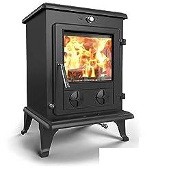 Saltfire Oslo Eco Multifuel Woodburning Stove DEFRA Approved EcoDesign