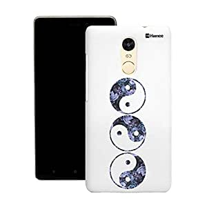Customizable Hamee Original Designer Cover Thin Fit Crystal Clear Plastic Hard Back Case for Motorola Moto X Play (yin yang)