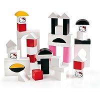 Brio 32315 Hello Kitty Wooden Building Blocks 50 Piece