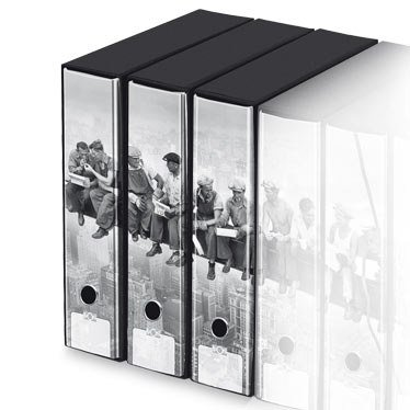 KAOS Archival 2ring Binders with slipcase