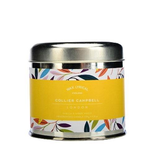 Wax Lyrical Collier Campbell Vanille et de bois d'ambre Bougie parfumée