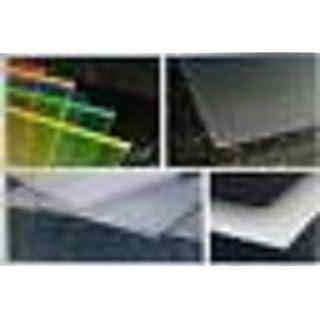 Platte Polycarbonat UV farblos verschiedenen Größen und Stärken zur Auswahl alt-intech® … (PC UV 4 mm, 600 x 500 mm)