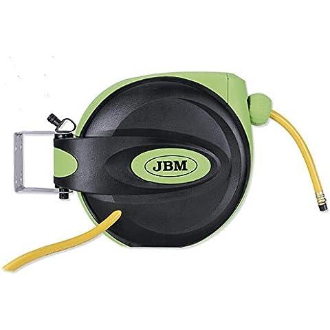 JBM 51299-Llave de impacto para coche-Carrete de manguera de aire 3/8 cm