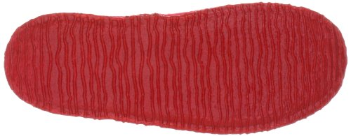 Giesswein Tulfes 58/10/41606/216, Pantofole unisex adulto Rosso (Rot (rot 311))