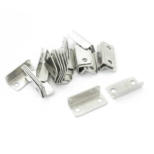 25PCS Home Office Metall abgewinkelt Drawer Lock Strike Teller 2,8cm lang