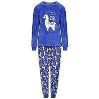 KidCollection Girls Lama Pyjama -KN000152-Blue-13 Years