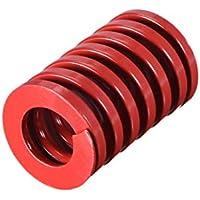 Sourcingmap - Molde de compresión para estampación en espiral (20 mm, diámetro exterior de 30 mm), color rojo